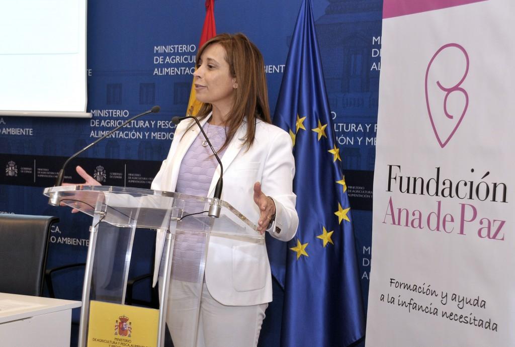 Dña Liana Ardiles López. Directora general del Agua
