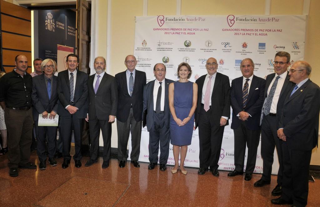 Premiados Premios de paz por la Paz 2017: La Paz y el Agua
