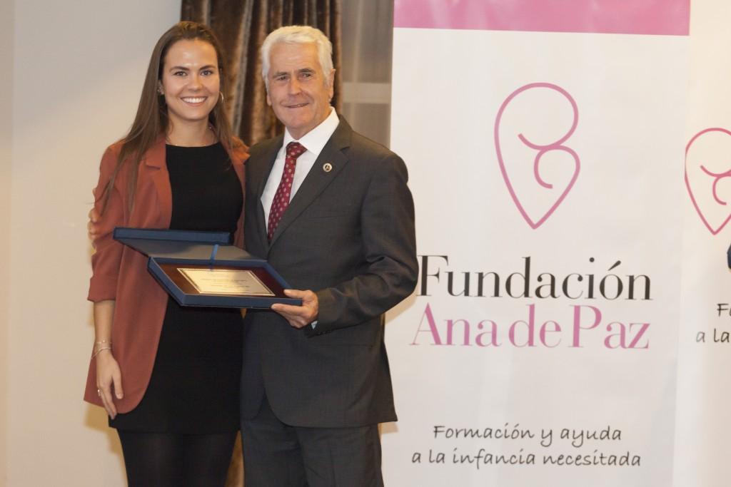 Anan Hernández de Paz con Manuel Ruiz Ortega