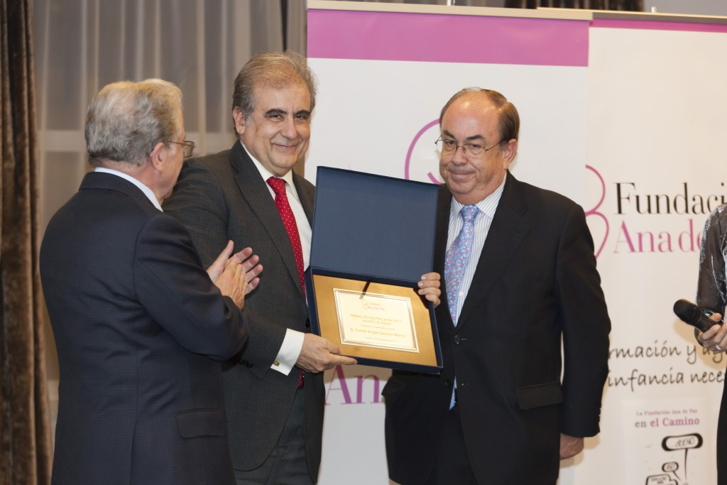 José Polimón con Tomas Sáncho y Honorio Bando