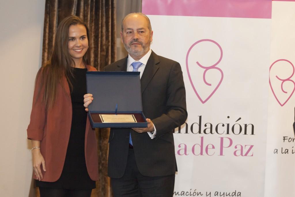 Ana Hernández de Paz con Gonzalo Rodriguez
